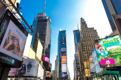 The famous Times Square in New York, USA Stock Photo