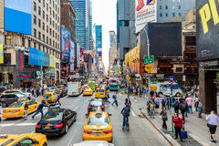 The famous Times Square in New York, USA Royalty Free Stock Photo