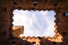 Famous Torre del Mangia Photo libre de droits