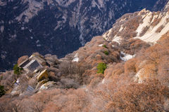 The famous tourist attractions in Shaanxi province China, Huashan mountain. Stock Photos