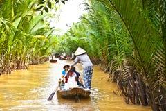 A famous tourist destination in Mekong delta , Vietnam fotos de stock royalty free