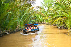 A famous tourist destination in Mekong delta , Vietnam. Royalty Free Stock Image