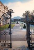 Famous tourist destination salzburg mirabellgarten Royalty Free Stock Image