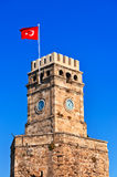 Famous tower in Antalya Turkey Stock Photo