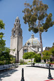 Famous  tower at Balboa Park Stock Image