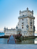Famous Tower of Belem Stock Photography