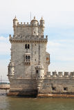 The famous Tower of Belem Stock Photos