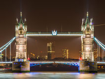 Famous Tower Bridge Stock Images