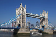 Tower Bridge in  London, UK Stock Photography