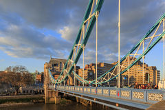 The famous Tower Bridge of London Royalty Free Stock Photo