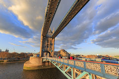 The famous Tower Bridge of London Royalty Free Stock Photos
