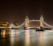 Famous Tower Bridge Royalty Free Stock Photo