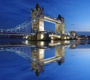 Famous Tower Bridge, London, UK Royalty Free Stock Image