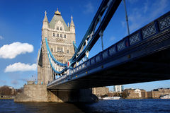Famous Tower Bridge, London, UK Royalty Free Stock Photography