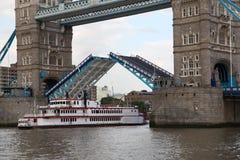 Famous Tower Bridge, London, UK Royalty Free Stock Image