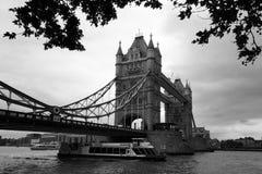 Famous Tower Bridge, London, UK Royalty Free Stock Photos