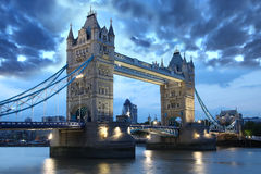 Famous Tower Bridge, London, UK royalty free stock images