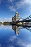 Famous Tower Bridge in London, UK Royalty Free Stock Photo