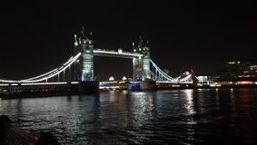 The famous tower bridge in London, UK. royalty free stock images