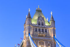 The famous Tower Bridge. At London, United Kingdom Stock Photo