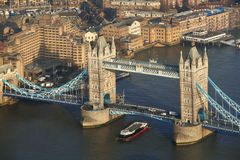 Tower Bridge in  London, UK Stock Images