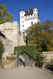 Famous tower of Eltville castle. In Germany Royalty Free Stock Images