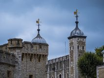 The famous Tower of London - important landmark in the city Royalty Free Stock Images