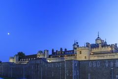 The famous Tower of London near Tower Bridge Stock Image