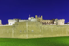 The famous Tower of London Royalty Free Stock Photos