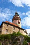 Europe famous town,cesky krumlov Stock Images