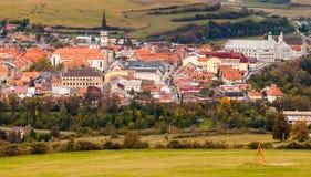 Famous Town of Levoca, Slovakia. UNESCO World Heritage Site stock photo