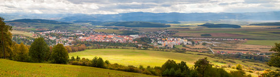 Famous Town of Levoca, Slovakia. UNESCO World Heritage Site Royalty Free Stock Images