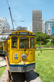 Famous tram from Lapa to Santa Teresa district, Rio de Janeiro Stock Image