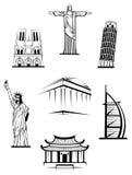 Famous travel landmarks Royalty Free Stock Photo