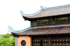 Famous travel place Vietnam beautiful architecture building. Place of worship Stock Photo