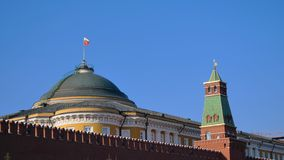 Famous travel spot Red Square Moscow Kremlin, Russia. Famous travel spot Red Square Moscow Kremlin in the day time, Russia royalty free stock images