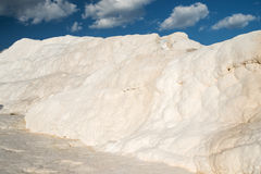 Famous travertines in Pamukkale Royalty Free Stock Image
