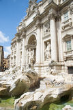 The Famous Trevi Fountain , rome, Italy. Stock Image