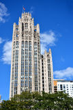 Famous Tribune building, Chicago Stock Image