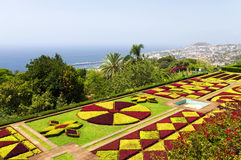 Famous Tropical Botanical Gardens in Funchal Royalty Free Stock Photography