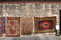 Famous Turkish carpets Stock Photography