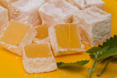 Famous Turkish Delight Royalty Free Stock Photo