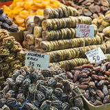 Famous turkish delights on the market Royalty Free Stock Image