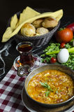 Famous turkish meal called menemen royalty free stock images