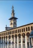 Famous umayyad mosque historical landmark in damascus syria Royalty Free Stock Image