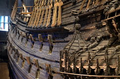 Famous Vasa ship,  museum in Stockholm Stock Photo