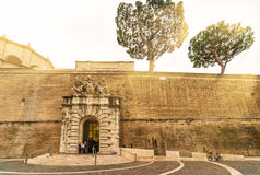 Famous Vatican museum in Rome Royalty Free Stock Images