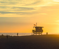 Famous Venice Beach in Los Angeles Stock Photography