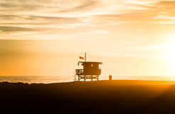 Famous Venice Beach in Los Angeles Royalty Free Stock Photography