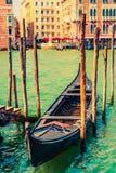 Famous Venice Gondola Stock Image
